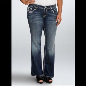 •Vigoss• the chelsea flare jeans 3/4